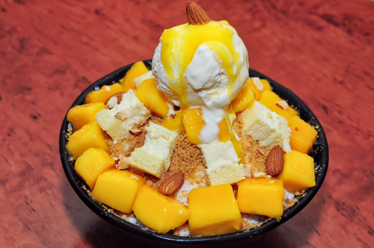 New Korean Shaved Milk Bingsu Cafes In Singapore