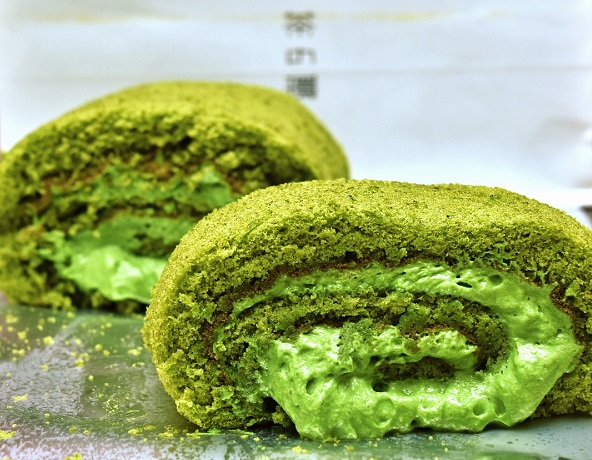 Matcha Swiss Roll Chanowa HongKong