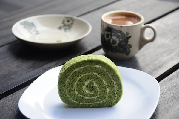 Matcha Swiss Roll Dough & Grains
