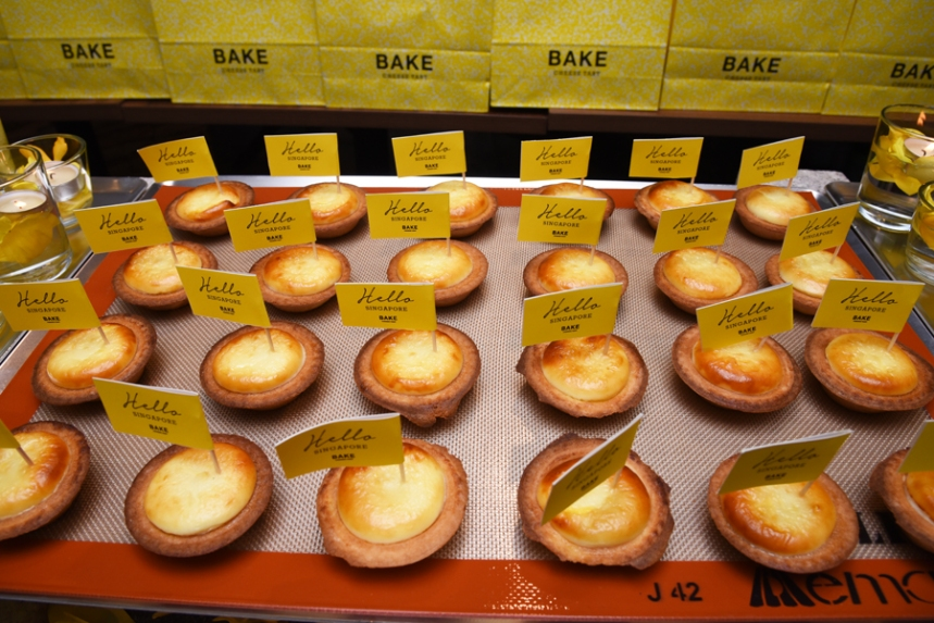 Bake Cheese Tart Singapore Famous Hokkaido Cheese Tart Opened 1st Store In Ion Orchard Thelancescape