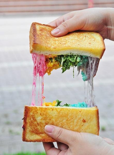 rainbow cheese toast epicurius cafe 10