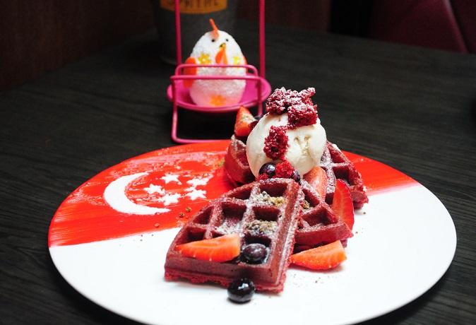 SG 51 Red Velvet Waffles